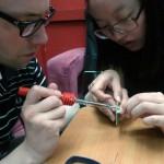 building pollution sensors